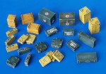 1-48-Ammunition-and-medical-Aid-containers-Germany-WW-II