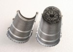 1-48-McDonnell-F-15C-F-15D-F-15E-F-15K-Eagle-P-and-W-EXHAUST-NOZZLE-and-AFTER-BURNER-SET-CLOSED