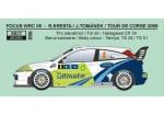 1-24-Decal-Ford-Focus-WRC-04-Rally-Sardinia-Tour-de-Corse-2005-Kresta