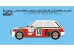 1-24-Decal-Renault-5-Turbo-LUCKIES-Rallye-El-Corte-Ingles-1984