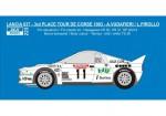 1-24-Decal-Lancia-037-Benetton-3rd-Tour-de-Corse-1983-Vudafieri