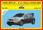 1-24-Skoda-Fabia-WRC-05-Rally-Japan-2005-Hirvonen-LIMITED-EDITION