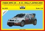 1-24-Skoda-Fabia-WRC-05-Rally-Japan-2005-Hirvonen-LIMITED-EDITION