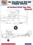 1-48-de-Havilland-DH-82-Tiger-Moth-stencils-sets-for-4-kits