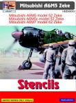 1-48-Mitsubishi-A6M5-Zeke-stencils
