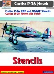 1-48-Curtiss-P-36-stencils