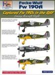 1-72-Captured-Focke-Wulf-Fw-190A-3-Fw-190A-4-Fw-190A-5-in-RAF-service
