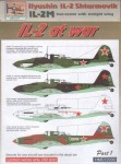 1-72-Ilyushin-Il-2M-two-seater-w-straight-wing-At-War-Pt-1