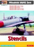 1-72-Mitsubishi-A6M2-Zero-stencils