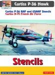 1-72-Curtiss-P-36-stencils