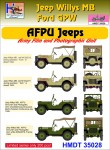 1-35-Willys-Jeep-MB-Ford-GPW-AFPU-Jeeps