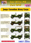 1-35-Willys-Jeep-MB-Ford-GPW-Canadian-Army-Corps