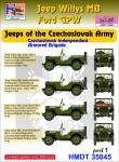 1-35-Willys-Jeep-MB-Ford-GPW-Czechoslovak-Army-Jeeps-Pt-1