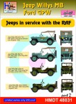 1-48-Willys-Jeep-MB-Ford-GPW-RAF-Jeeps-Pt-2