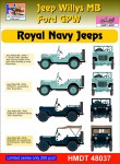 1-48-Willys-Jeep-MB-Ford-GPW-Royal-Navy-Jeeps