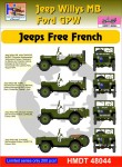 1-48-Willys-Jeep-MB-Ford-GPW-Free-French-Jeeps