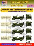 1-48-Willys-Jeep-MB-Ford-GPW-Czechoslovak-Army-Jeeps-Pt-2
