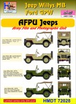 1-72-Willys-Jeep-MB-Ford-GPW-AFPU-Jeeps