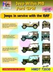 1-72-Willys-Jeep-MB-Ford-GPW-RAF-Jeeps-Pt-1