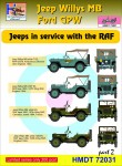 1-72-Willys-Jeep-MB-Ford-GPW-RAF-Jeeps-Pt-2