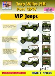 1-72-Willys-Jeep-MB-Ford-GPW-VIP-Jeeps-Pt-1