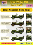1-72-Willys-Jeep-MB-Ford-GPW-Canadian-Army-Corps