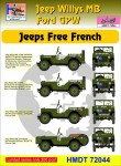 1-72-Willys-Jeep-MB-Ford-GPW-Free-French-Jeeps