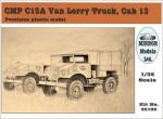 1-35-CMP-C15A-Chevrolet-Van-Lorry-Truck-Cab-13