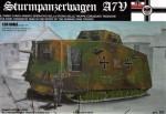 1-35-SturmPanzerWagen-A7V-WWI-Tank