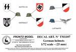 1-72-GERMAN-HELMET-INSIGNAS-WW-2