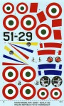 1-32-REPUBLIC-F-84-G-THUNDERJET-Italian-Insigna-all-film-decal-double-sheet-Hobby-Boss