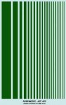 DECAL-GREEN-STRIPES-Fs-14110