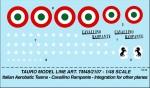1-48-PATTUGLIA-ACROBATICA-CAVALLINO-RAMPANTE-per-Canadair-Cl-13-Sabre