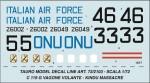 1-72-FAIRCHILD-C-119-G-ONU-ITALIAN-AIR-FORCE-1960-1962