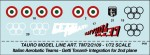 1-72-AEROBATIC-TEAM-GETTI-TONANTI-For-Republic-F-84-F-Thunderstreak