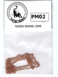 Retez-Brass-chain-22-links-for-inch-thin-type-1m-long