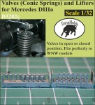 1-32-Valves-Conic-w-lifters-for-Mercedes-DIIIa