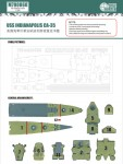 1-700-USS-INDIANAPOLIS-CA-35-FOR-TAMIYA-31804