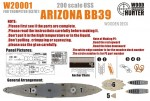 1-200-WWII-USS-Arizona-BB39-for-Trumpeter-03701