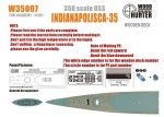 1-350-WWII-Cruiser-USS-Indianapolis-CA-35for-Academy14107
