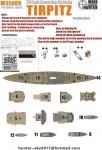 1-350-WWII-German-Navy-Tirpitz-Battleship-for-Tamiya-78015
