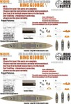 1-350-WWII-HMS-Navy-King-George-V-Battleship-for-Tamiya-78010