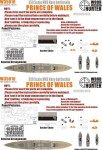 1-350-WWII-HMS-Navy-Prince-of-Wales-Battleship-for-Tamiya-78011