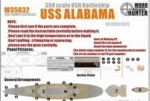1-350-WWII-USS-Alabama-BB60-for-Trumpeter-05307