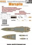 1-350-WWII-HMS-Warspit-Battleship-for-Academy-14105