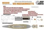 1-350-WWII-USS-Massachusetts-BB59-for-Trumpeter-05306