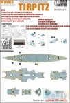 1-700-WWII-German-Battleship-Tirpitzfor-Revell05099-