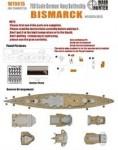 1-700-WWII-German-Navy-Bismarck-Battleship-for-Trumpeter-05711