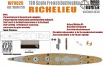 1-700-WWII-French-Navy-Richelieu-Battleship-for-Trumpeter-05750-and-65289