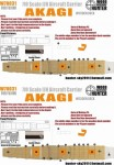 1-700-WWII-IJN-Akagi-Aircraft-Carrier-for-Fujimi-430287-and-65289